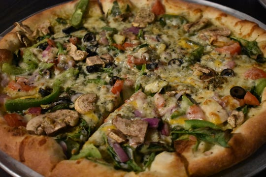 Pizza with Wheat Montana flour is always a hit.