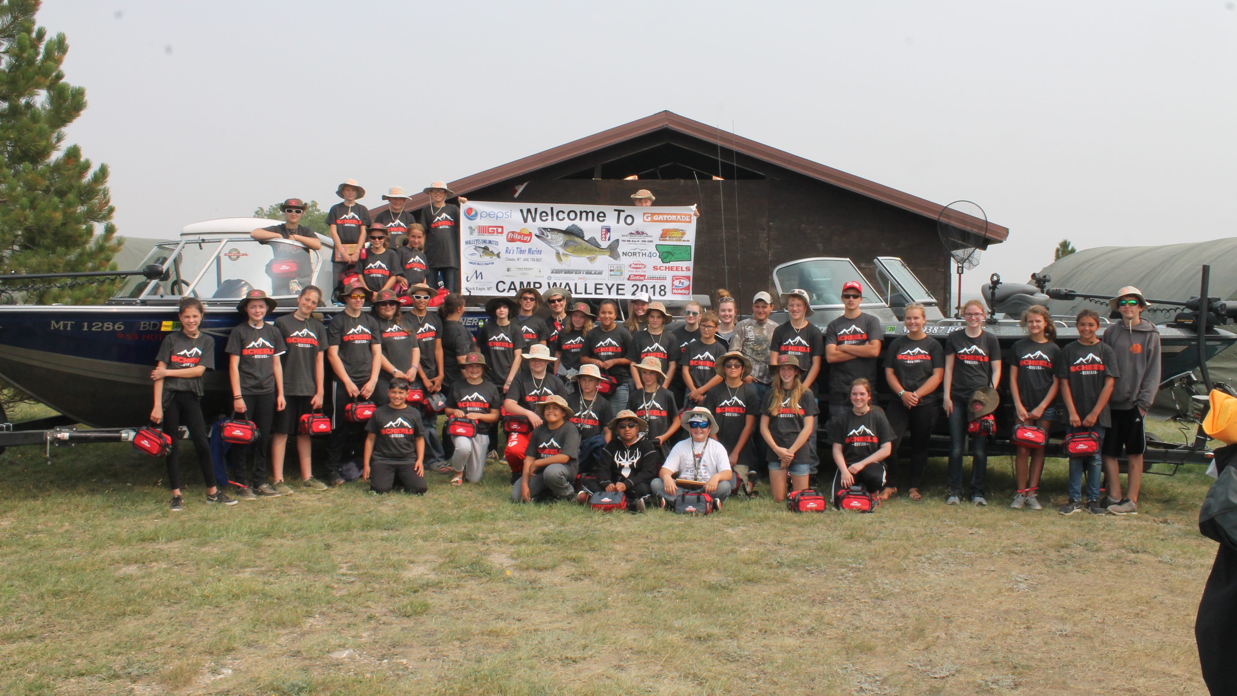 Despite weather affecting catch numbers, the 2018 Camp Walleye was still a success.