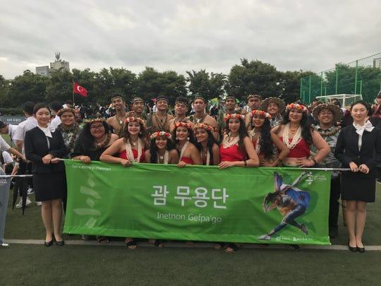 Inetnon Gefpa'go at the 2018 Cheonan World Dance Competition.