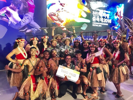 Inetnon Gefpa'go placed third at the 2018 Cheonan World Dance Competition which is one of the largest and most prestigious cultural dance competitions in the world. The week long festivities featured many countries from around the world with an estimated one million people in attendance throughout the week.