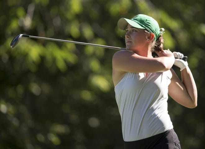 Zionsville's Annabelle Pancake shot a 64 to claim medalist honors in the Brownsburg sectional.