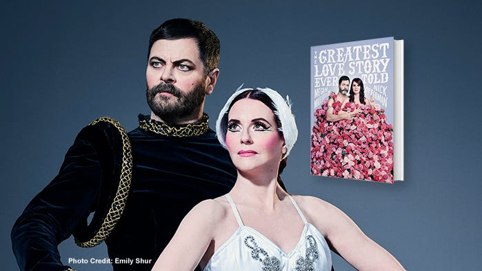 #BookmarkThis with Megan Mullally & Nick Offerman