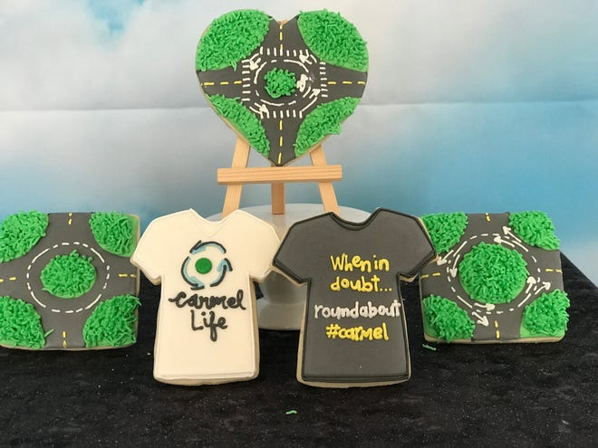 """These """"roundabout inspired"""" cookies will be available at Main Street Treats, 216 W Main St., from Sept. 17-21."""