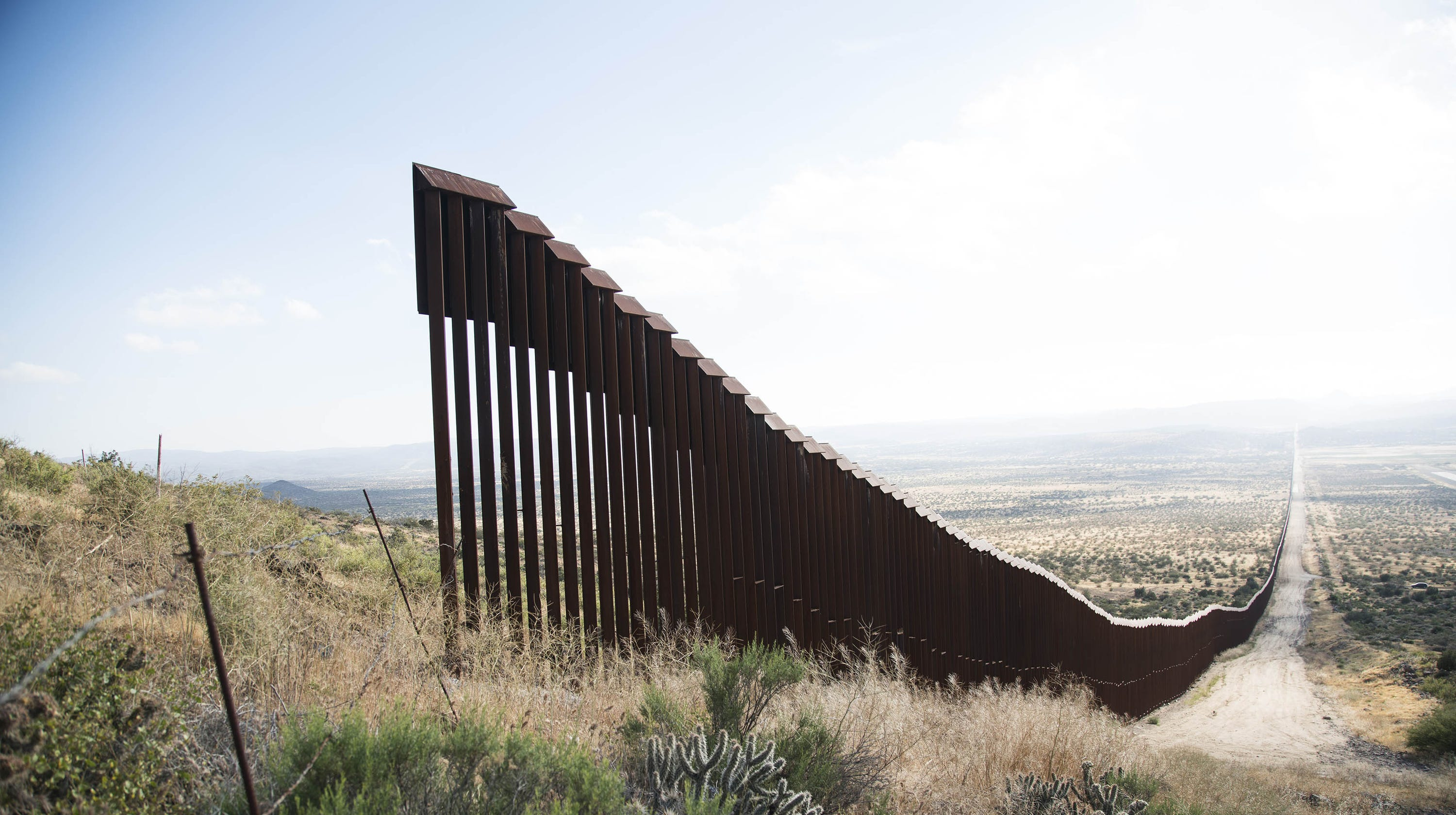 Construction of President Donald Trump's border wall to begin in February