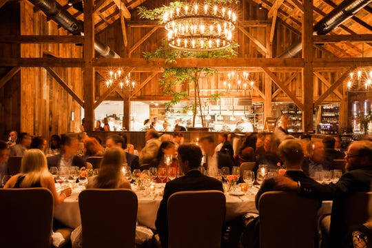 Dining at Blackberry Farm