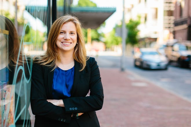 Attorney Amy Johnson, founder of Bike Walk Knoxville