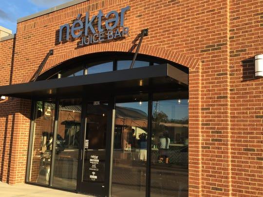 Nekter Juice Bar has opened in the Bearden Community