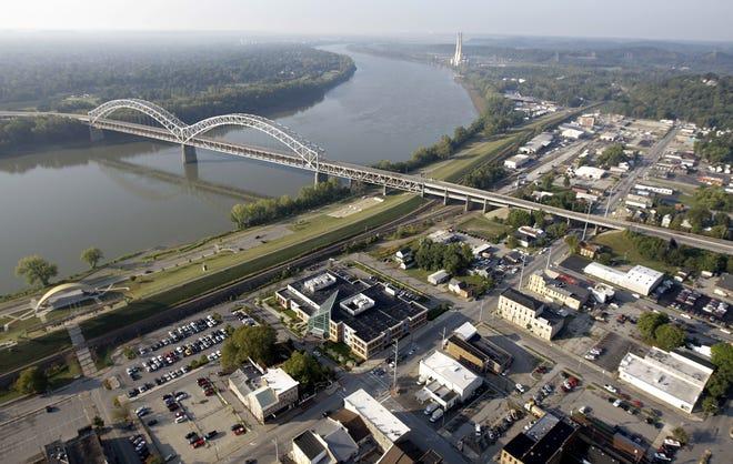 The Sherman Minton Bridge.