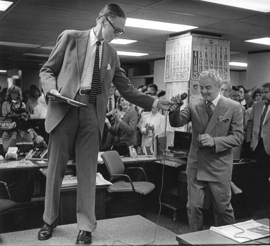 Barry Bingham Jr., and Al Neuharth