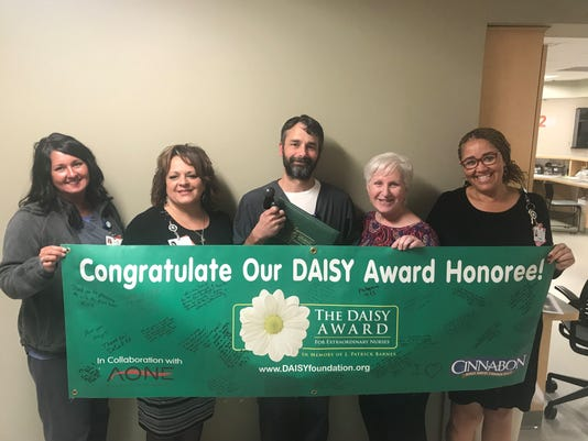 DAISY Award honoree Daniel Bernard was nominated by colleagues for the award.