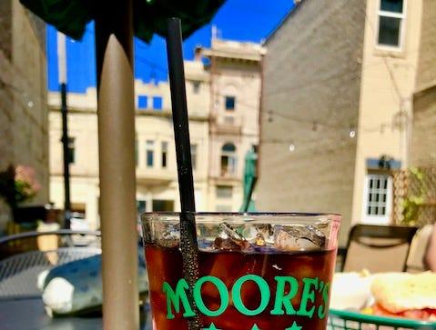 Soda at Moore's Irish Pub