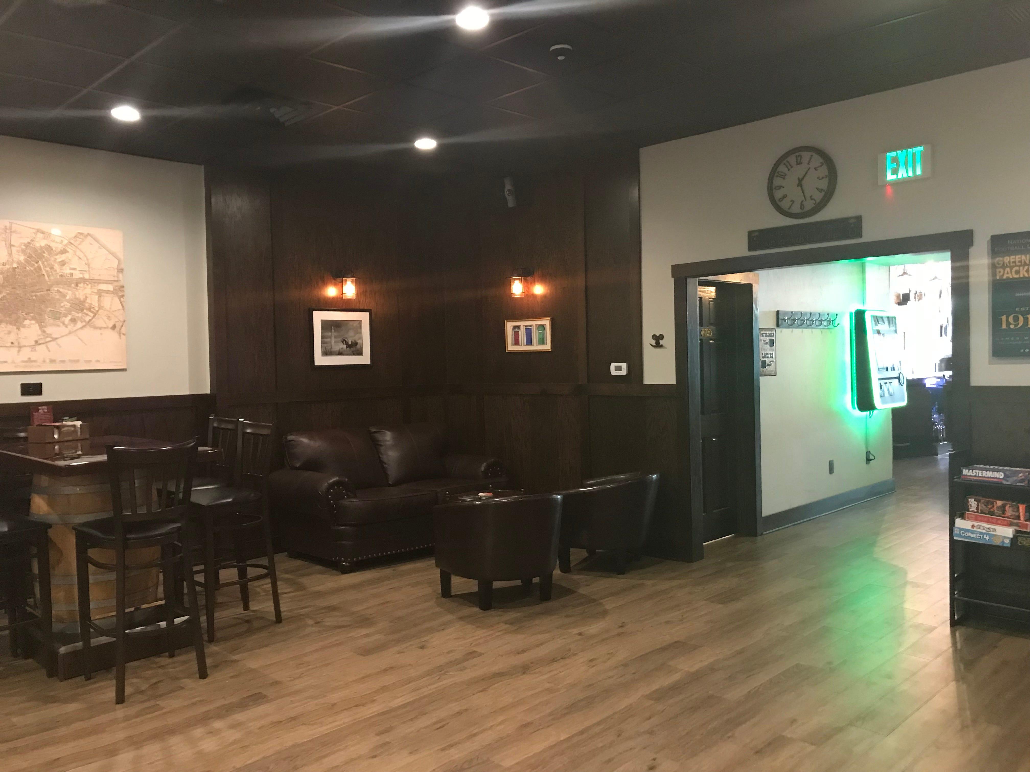Inside of Moore's Irish Pub