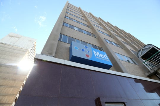 Med Communications, a pharmaceutical consulting firm that works as a third-party information center between caregivers and their patients, is located inside the Memphis BioWorks Building.
