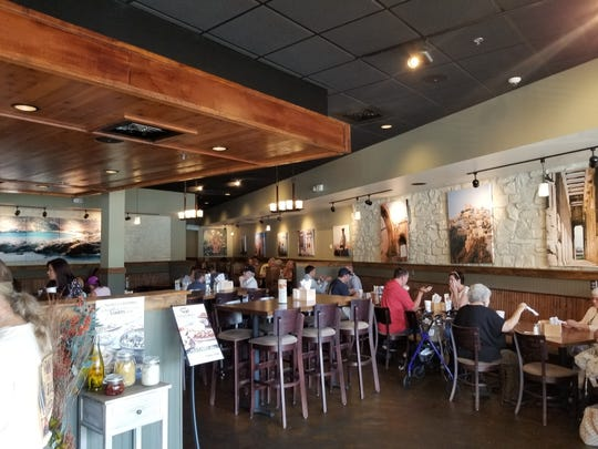 "Taziki's Mediterranean Cafe's new location in Bartlett will be consistent with the brand's ""Mediterranean-Coastal"" restaurant design."