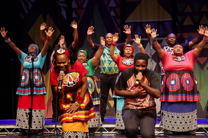 The Soweto Gospel Choir performs Nov. 15 at the South Milwaukee Performing Arts Center.