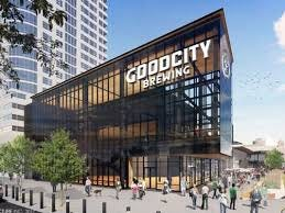 Good City Brewing's downtown Milwaukee taproom, which is being built near the Fiserv Forum, is seeking a loan from the Milwaukee Economic Development Corp.