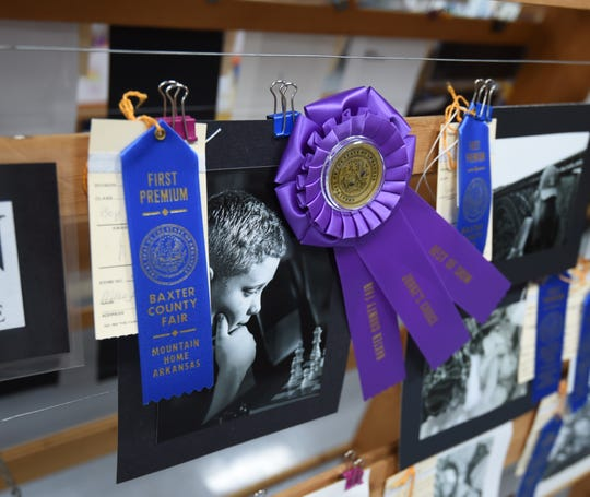 This photo of a boy contemplating his next chess move won  a coveted Best In Show ribbon at the 2018 Baxter County Fair.