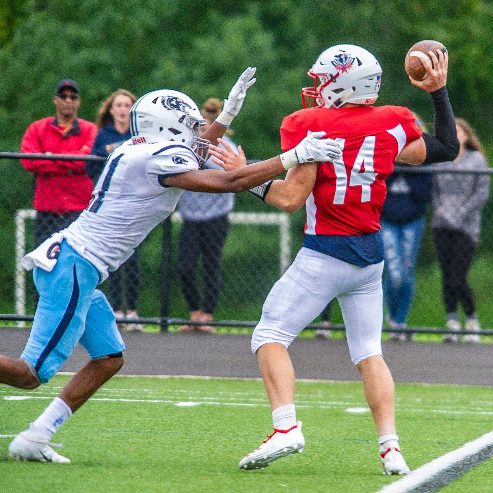 Mendham quarterback Gage Armijo growing into new role
