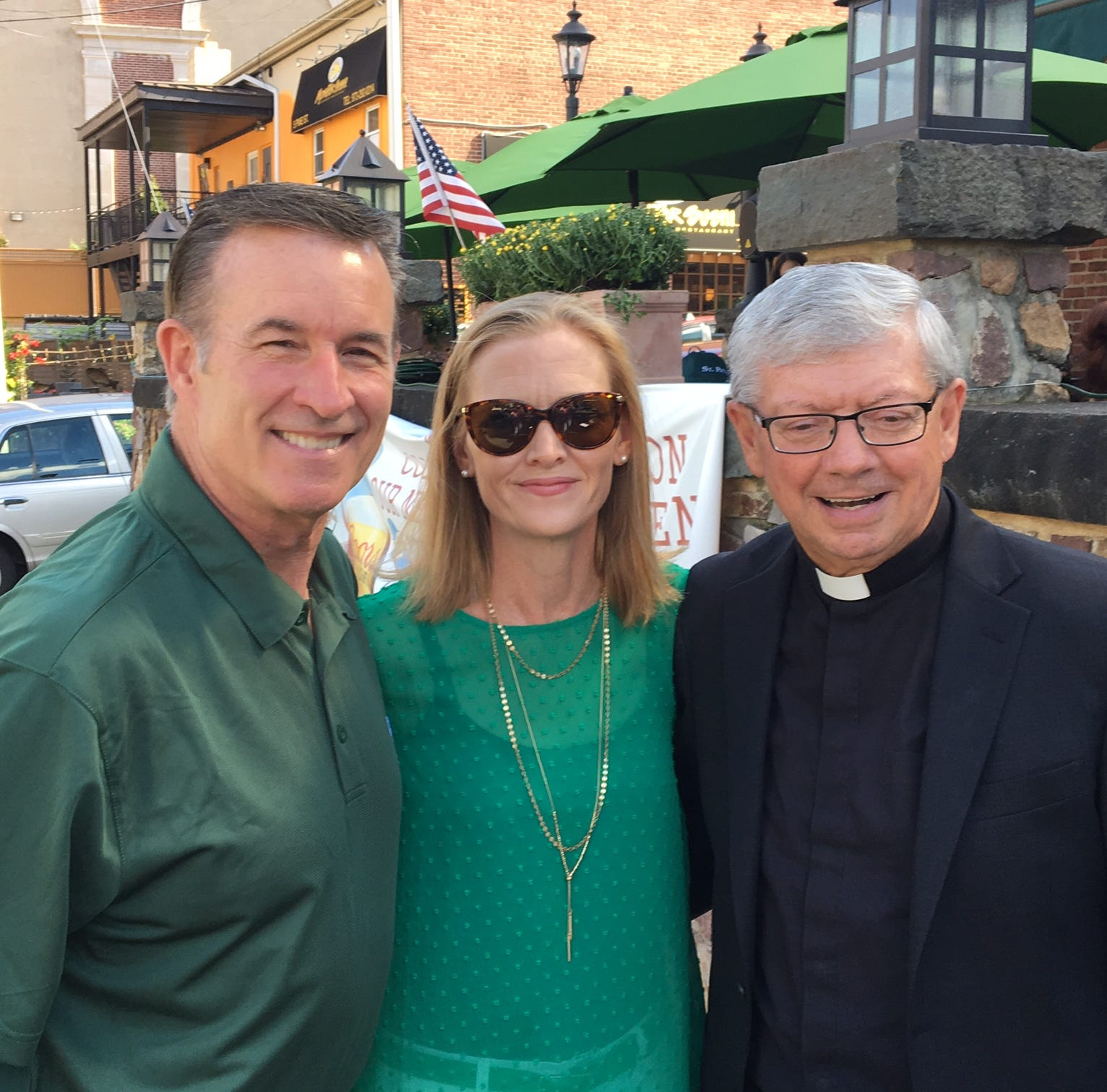 Rev. Paddy O'Donovan will lead Morris County's 2019 St. Patrick's Day parade