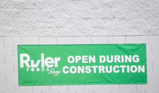 The Ruler Foods at 3500 N. Morrison Road is undergoing a renovation to update the store and take on new rebranding. The remodel for the Kroger-owned discount store will cost $322,465.