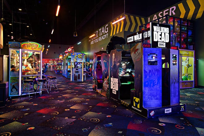 Stars and Strikes opened in Smyrna in late September with laser tag, bowling, arcade games and bumper cars.