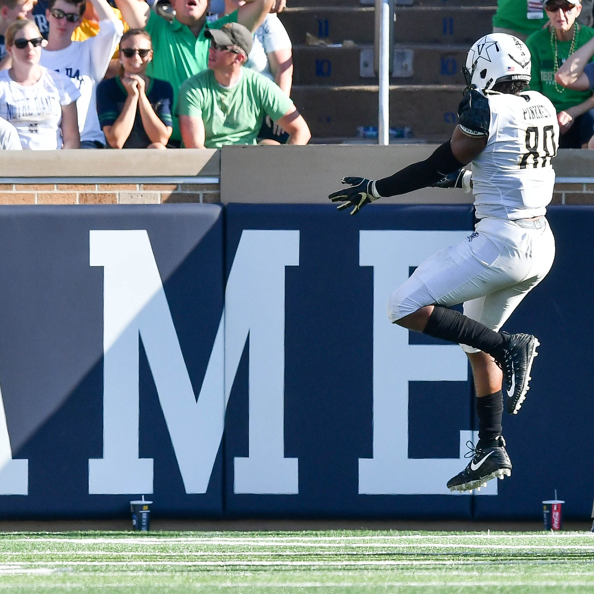 How Vanderbilt's Jared Pinkney is college football's top receiving tight end