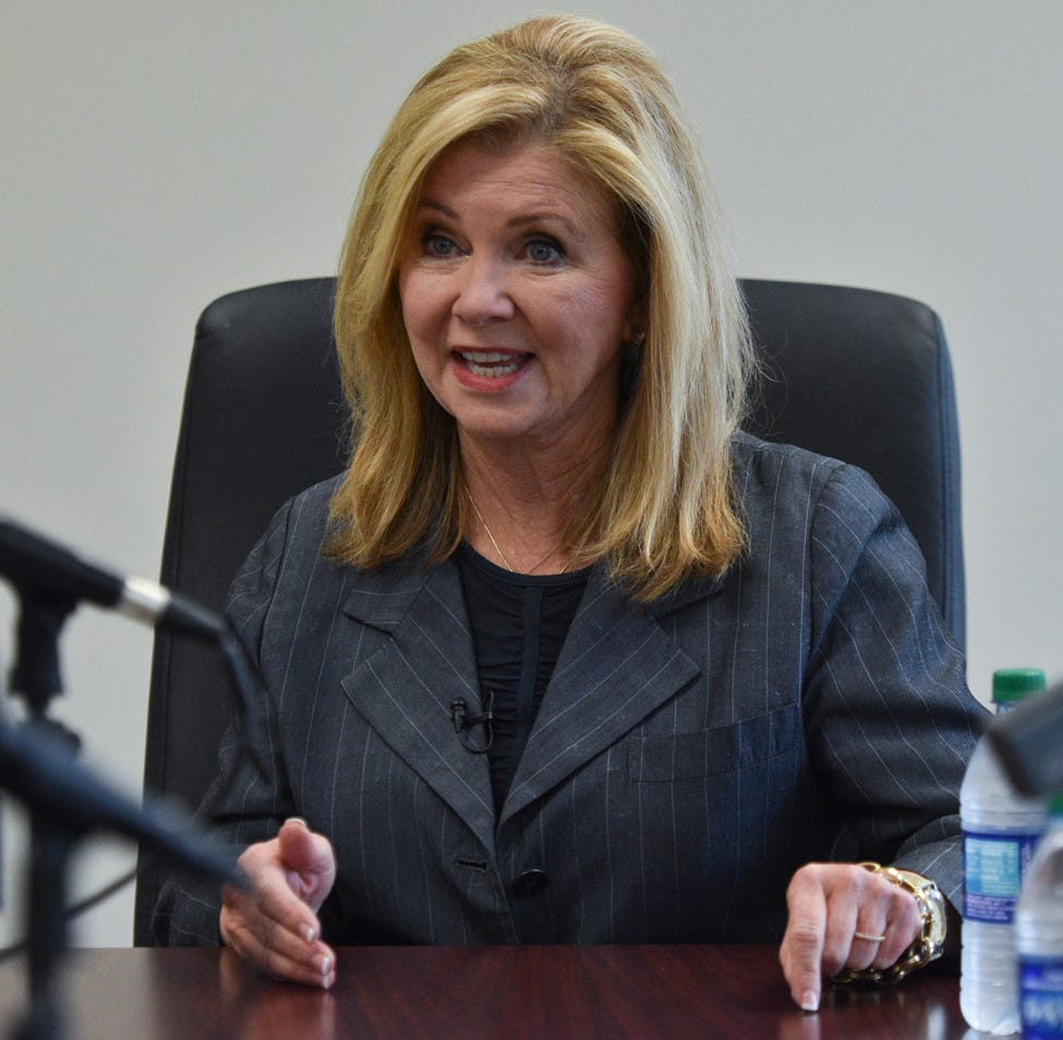 Is Marsha Blackburn a human trafficking hypocrite? | Opinion