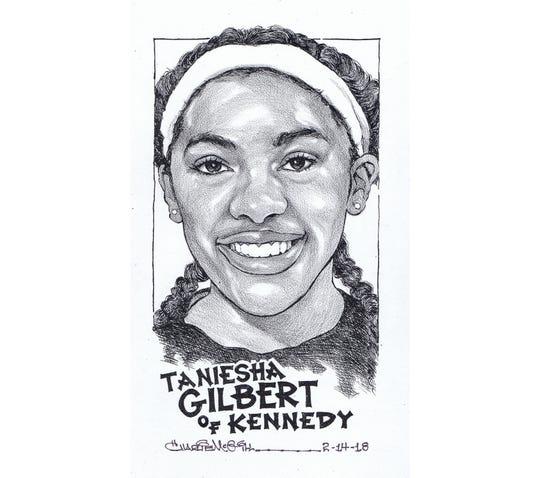 Taneisha Gilbert, Kennedy