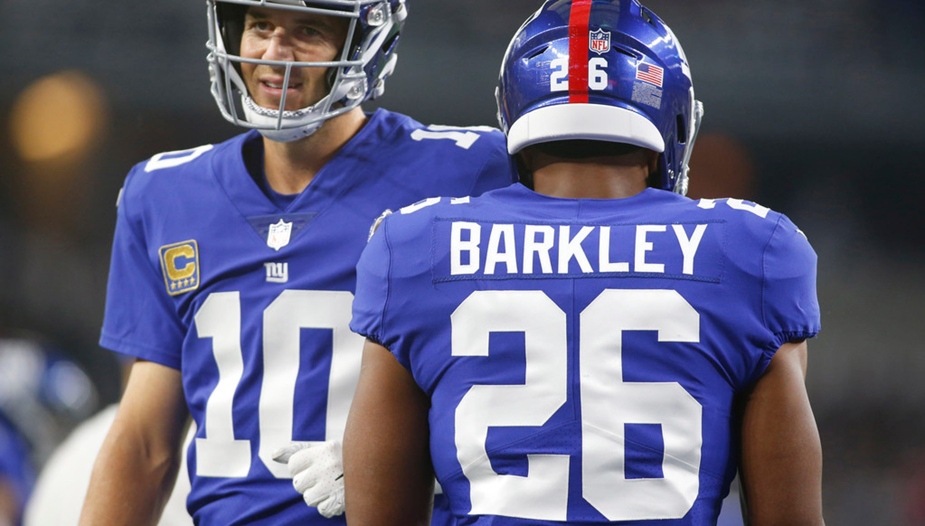 Eli Manning not rolling over vs. Texans despite NY Giants 0-2 start 728e46ffb