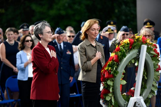 Berlin Airlift Wreath Laying Ceremony