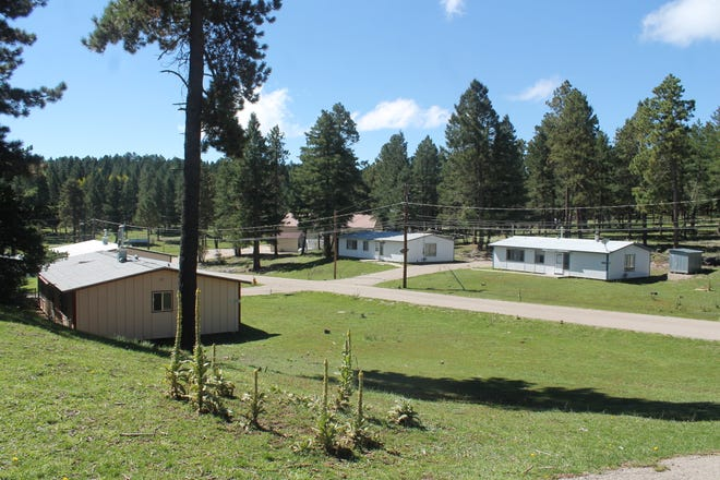 Residences at the National Solar Observatory in Sunspot, pictured here Monday, Sept. 17, 2018,  have been largely unoccupied for a couple of years, because a large number of employees were moved to a facility in Colorado, said Bruce Sagma, the facility's chief of maintenance.
