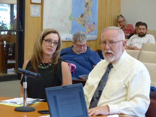 During a previous meeting, District Judge Dan Byrant and Magistrate Judge Katie Graham Lund explained to Ruidoso village councilors why better court facilities were a necessity.