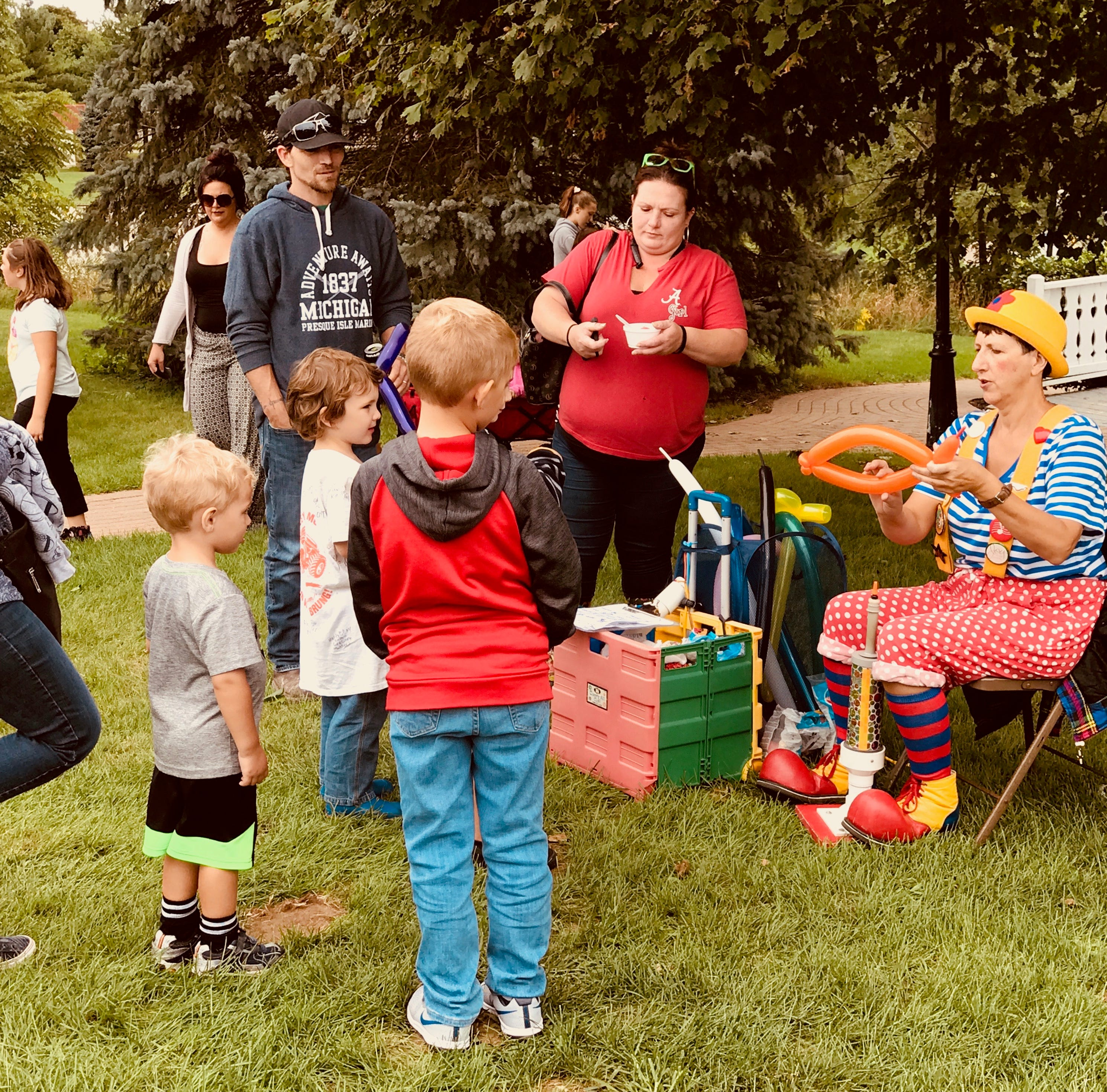 Historical society's Depot Day draws enthusiastic crowd