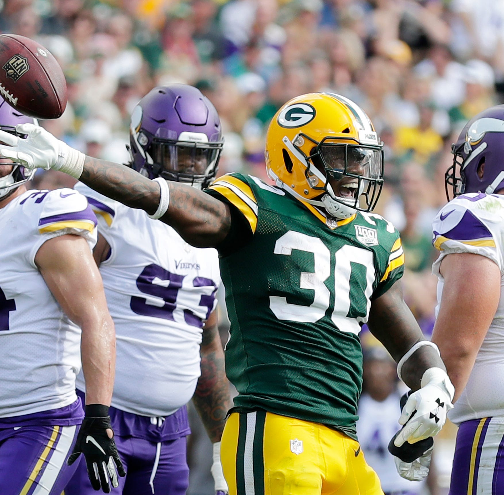 Packers to host Vikings in home opener, have max number of primetime games