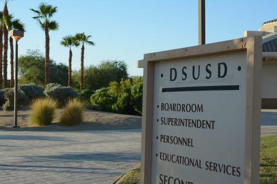 Desert Sands Unified School District offices in La Quinta.