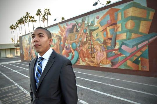 Indio City Council candidate Oscar Ortiz.