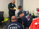 Rescue teams working together in North Carolina to save people from the effects of Hurricane Florence, Sept. 16, 2018.