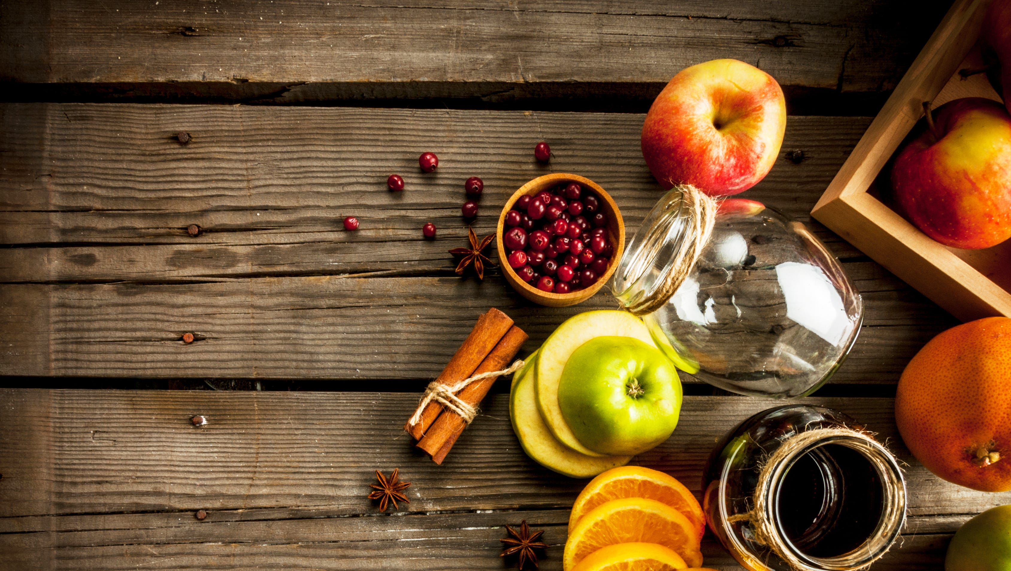 Have a taste of autumn with a fall-inspired cocktail.