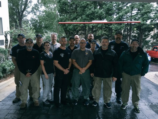 The Arizona Department of Forestry and Fire Management deployed a 15-member unit to Scotland County, North Carolina.