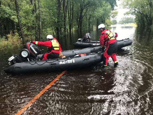 Arizona team rescues 82 people, pets in North Carolina after Hurricane Florence hits