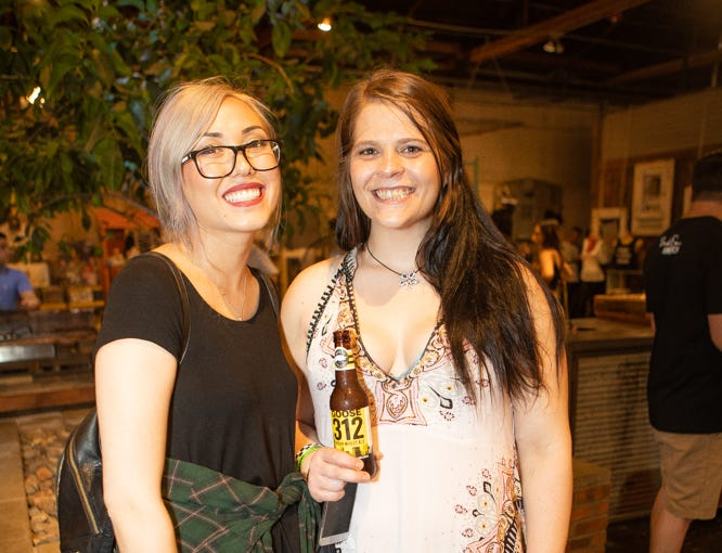 Breakfast, art, and drinks were a winning combination at the pancakes and booze art show on Friday, Sept. 14, 2018 at The Duce in Phoenix.