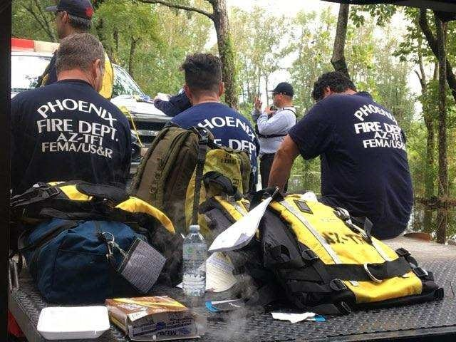 Arizona Task Force 1 performed boat rescues in areas affected by Hurricane Florence and worked with local and federal agencies.