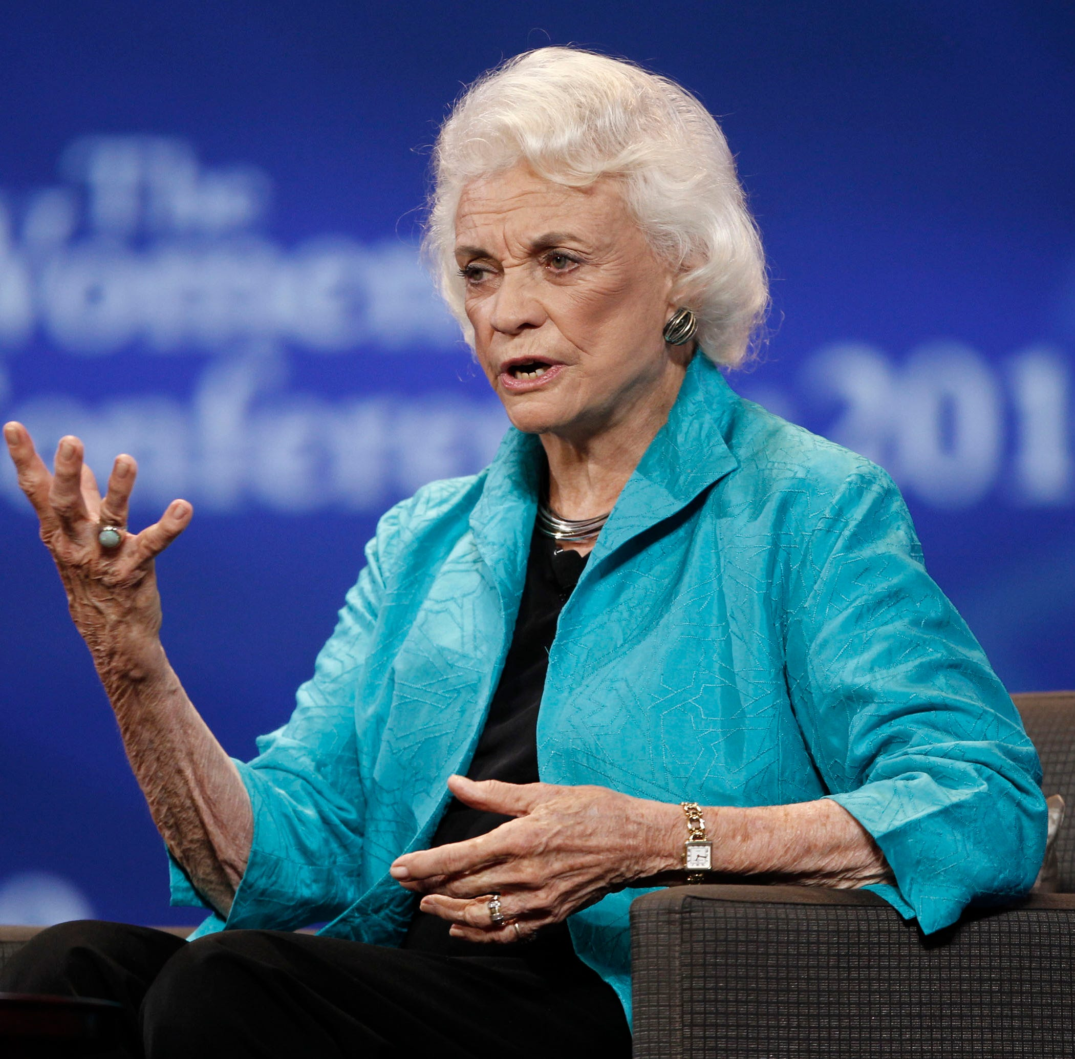 First female Supreme Court Justice Sandra Day O'Connor announces she has dementia