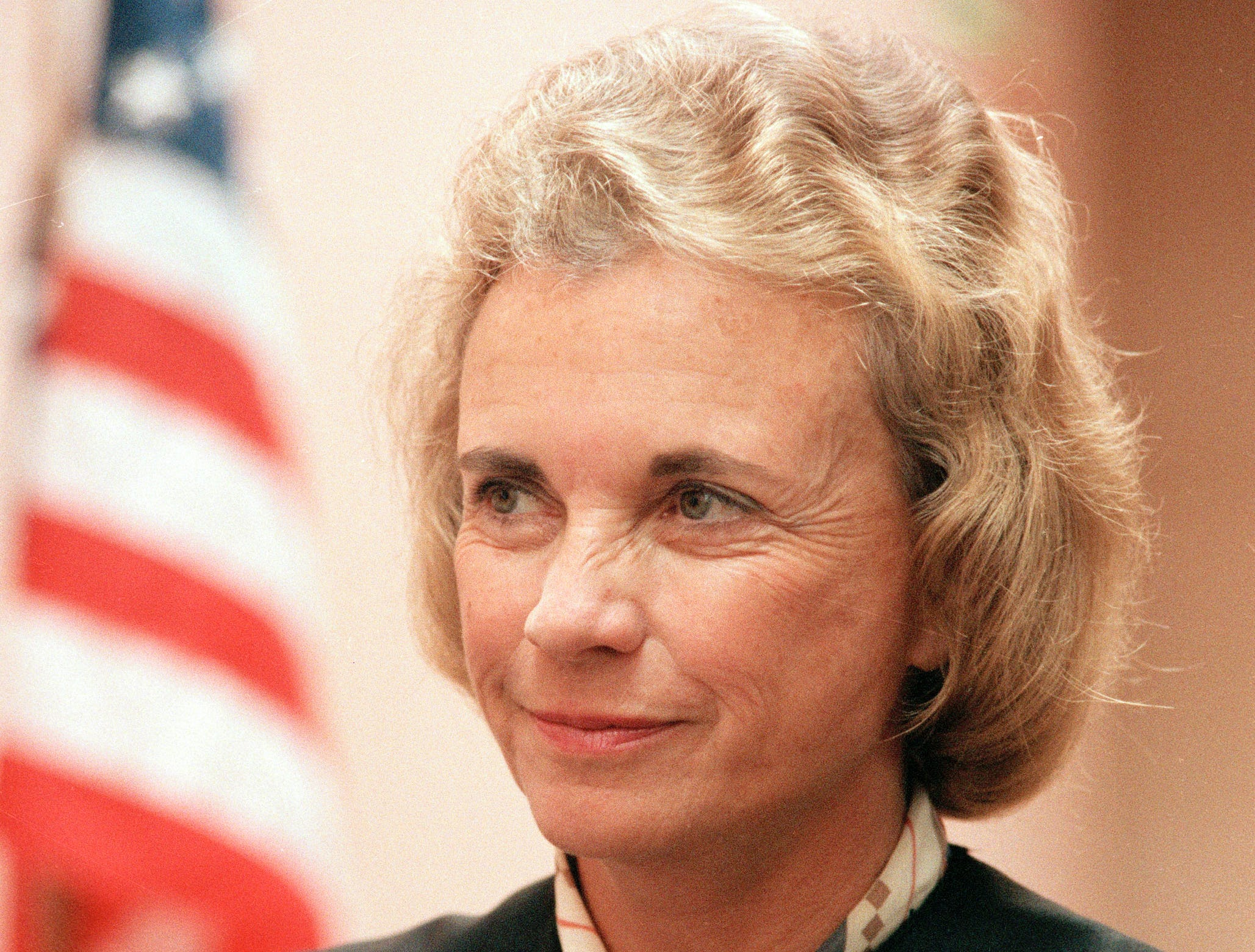 The Honorable Sandra Day O'Connor, justice of the U.S. Supreme Court, is shown, June 24, 1985.