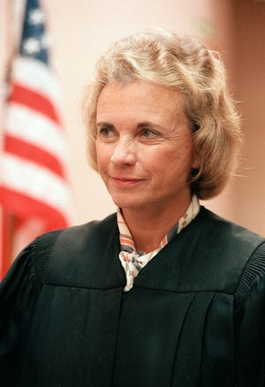 Supreme Court Justice Sandra Day O'Connor on  June 24, 1985.