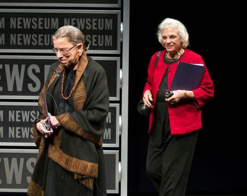 Sandra Day O Connor Ruth Bader Ginsburg