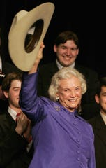 Sandra Day O'Connor at an event sponsored by the University of Houston Law Center in 2005.