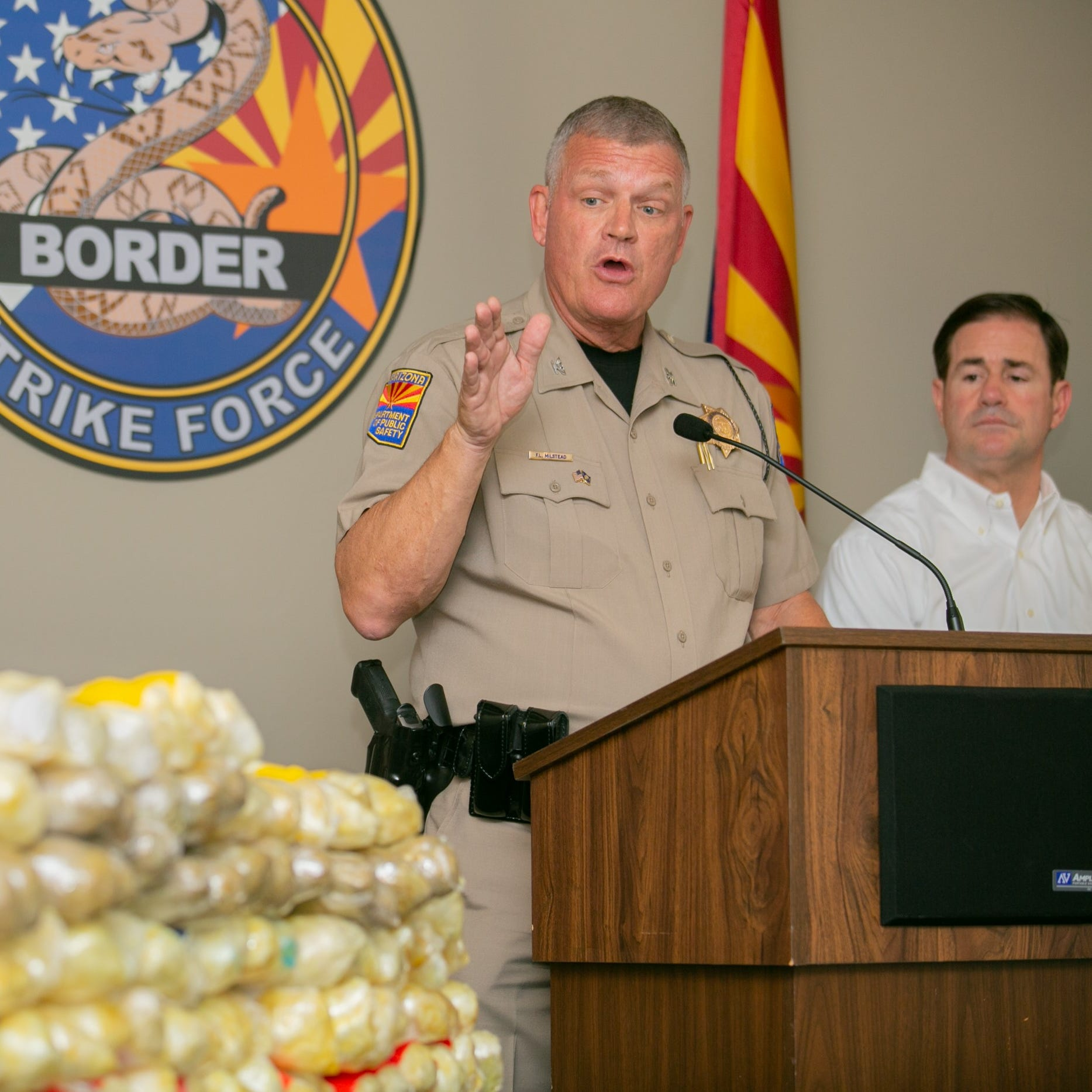 Should Gov. Doug Ducey be using Arizona's DPS director as a prop in his re-election campaign?