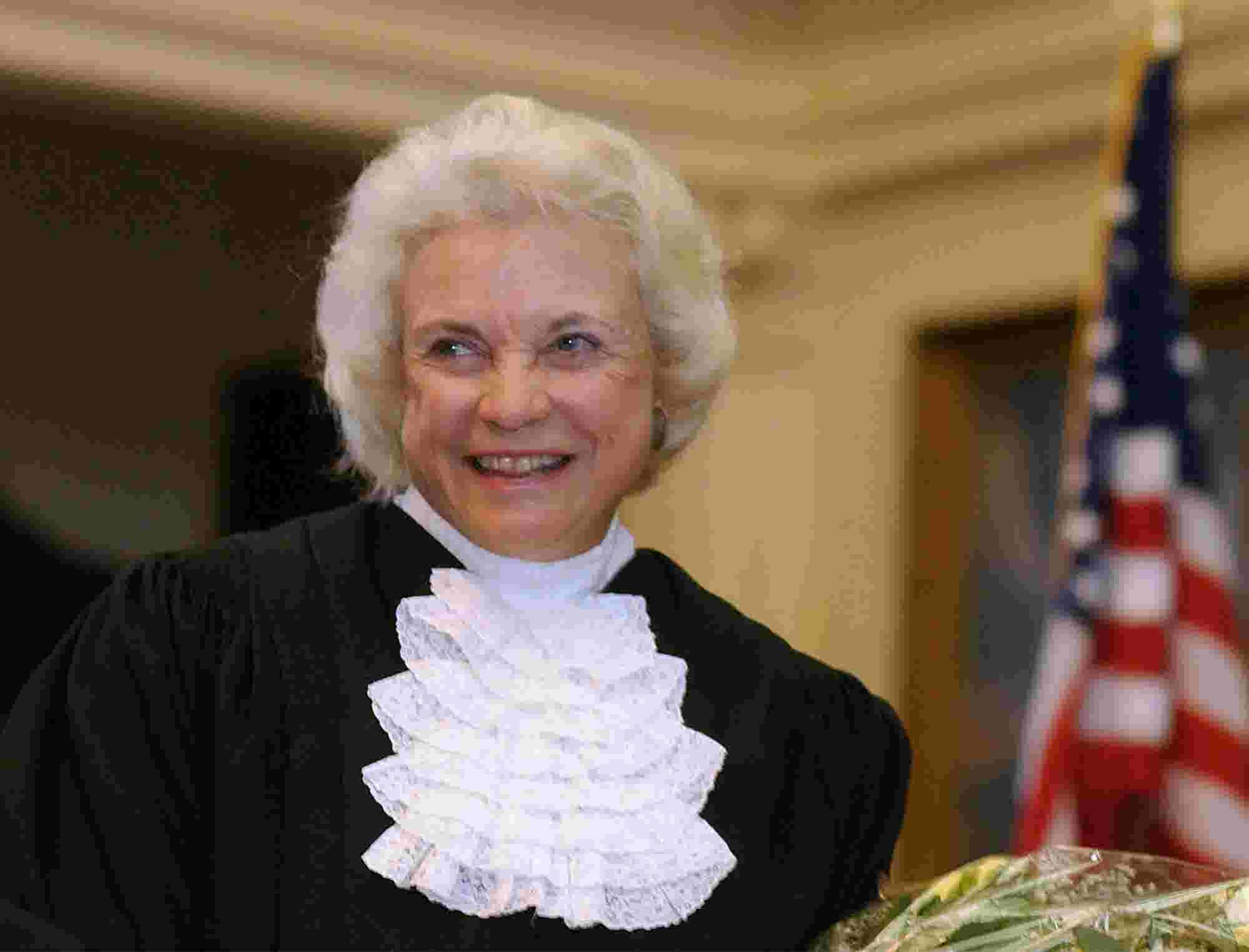 As the Supreme Court shifted right, conservative Sandra Day O'Connor shifted to the middle