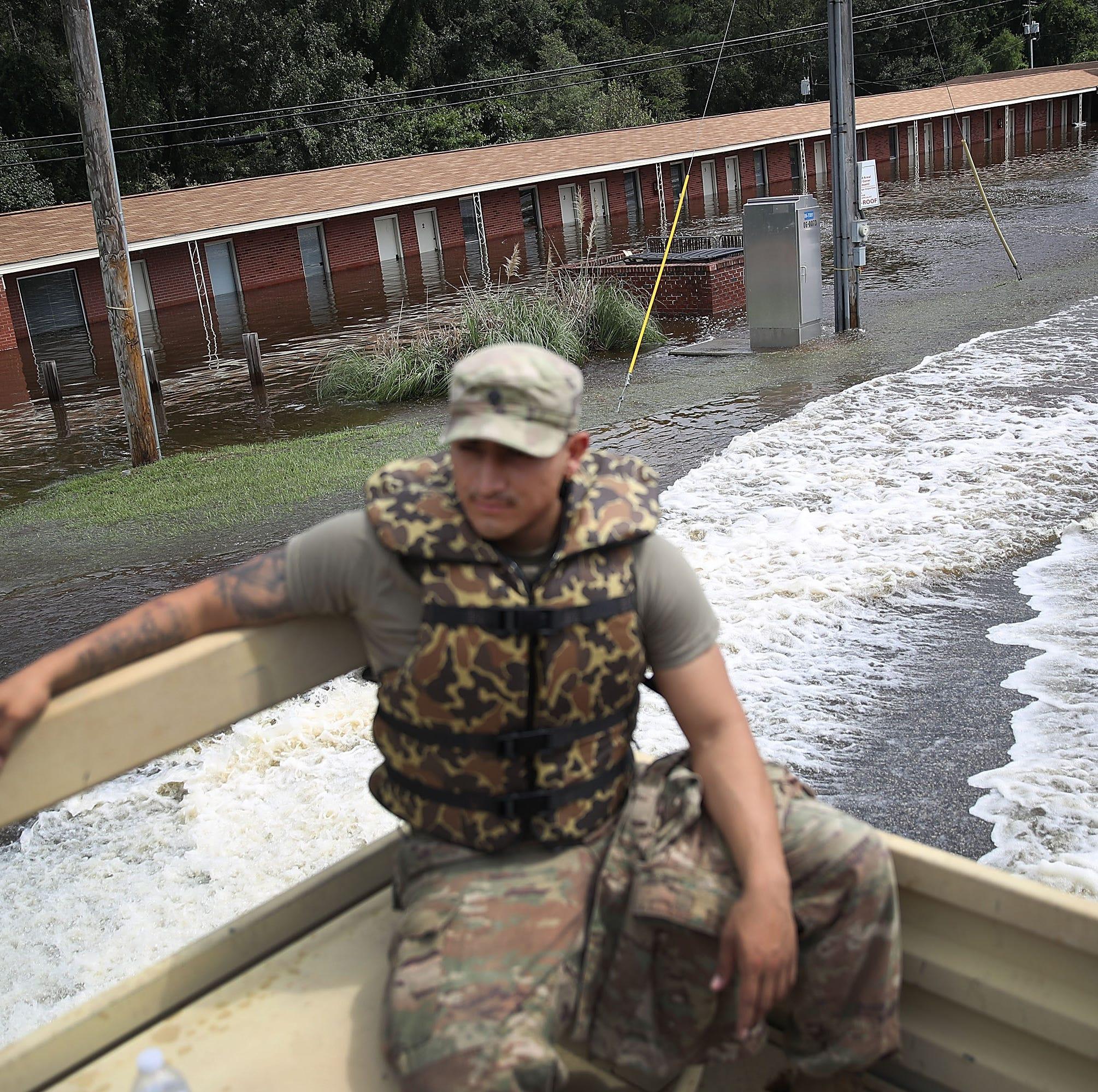 Estado de emergencia y 19 muertos, el balance del huracán Florence